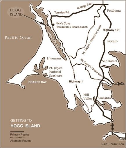 hog island map