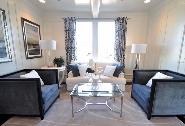 Living room sitting area model 3