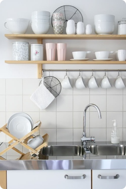 Timeless Or Trendy Open Shelving In Kitchens Centsational Style