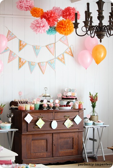 perfectly imperfect birthday party
