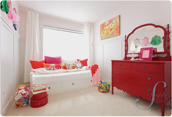 simply inspired girls room