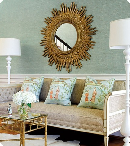 thibaut gold sunburst