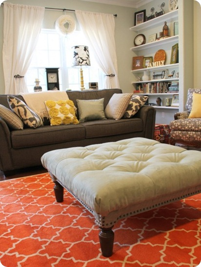tufted ottoman five days five ways