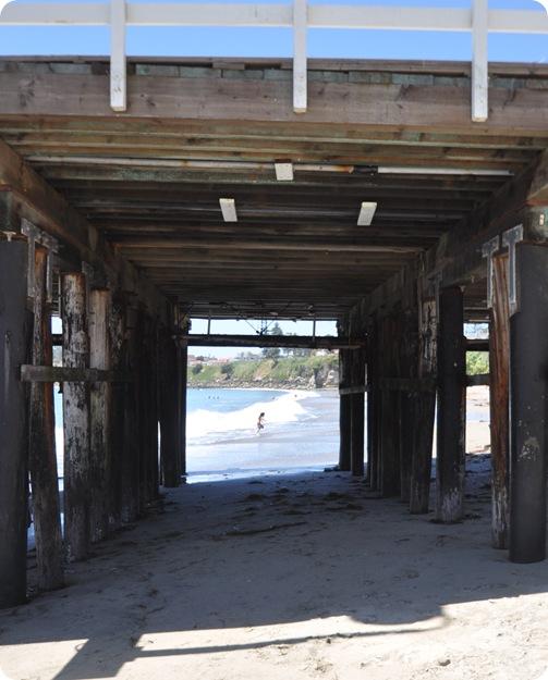 under wharf