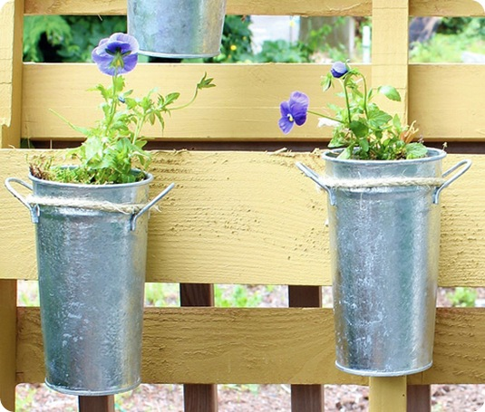 yellow pallet flower garden the inspired home