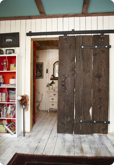 Dutch Barn Doors. The New Rustic Centsational Girl & Apartment Door Diy: Tips for decorating your diy barn door. DIY ... Pezcame.Com