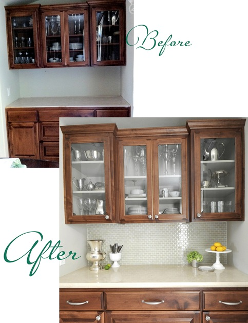before after dining hutch