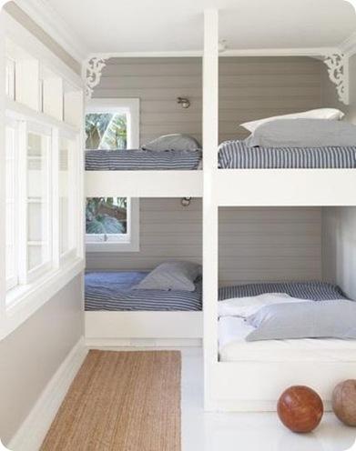 bunk room nooks