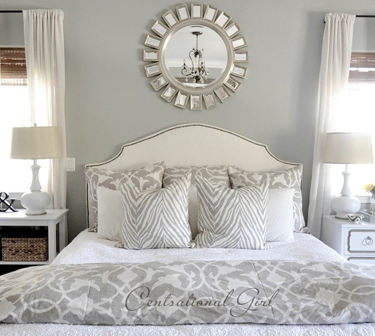 Master Bedroom Update | Centsational Style on Mirrors Next To Bed  id=54480