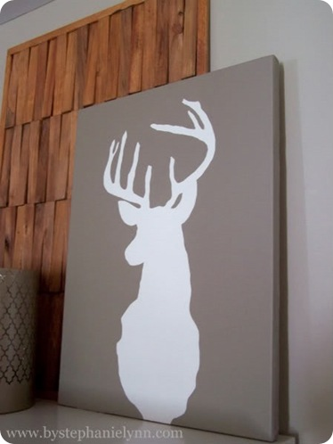 deer head art