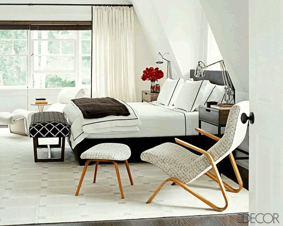 Secrets of a well dressed bed centsational girl - Elle decor bedrooms ...