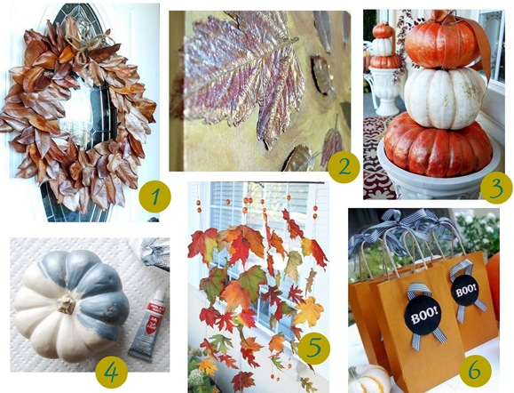 fall favorite crafts