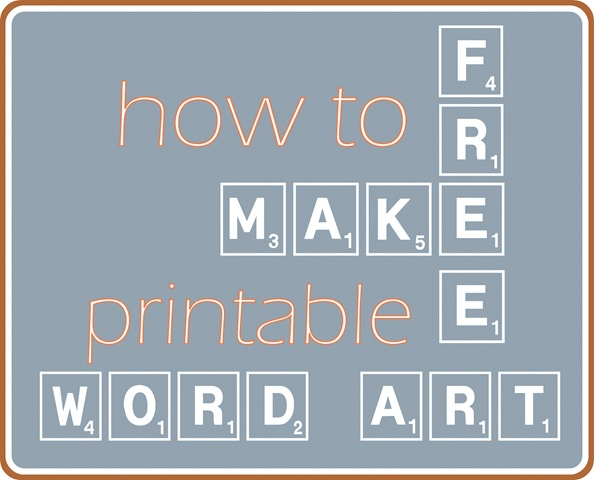 Make your own printable word art centsational girl for How to make online art