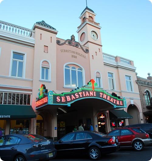 sebastiani theatre sonoma