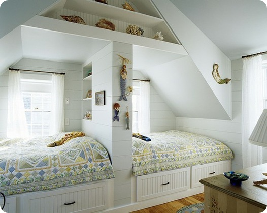sleeping nook built in