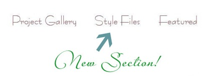 style files new section