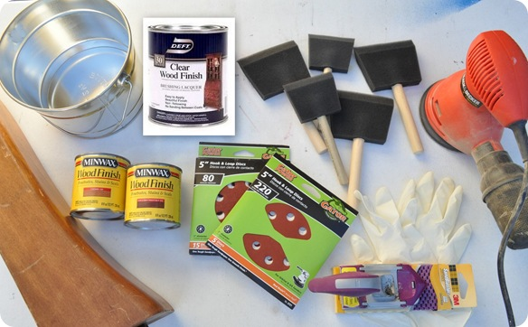 supplies for refinishing table
