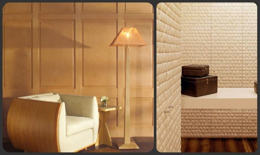 Leather Walls collage