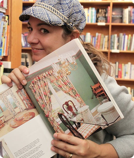 kate with decorating book