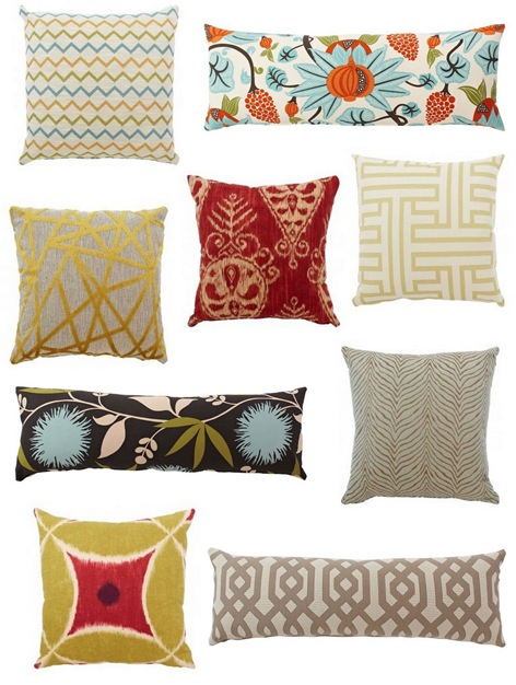 pillows by dezign collage