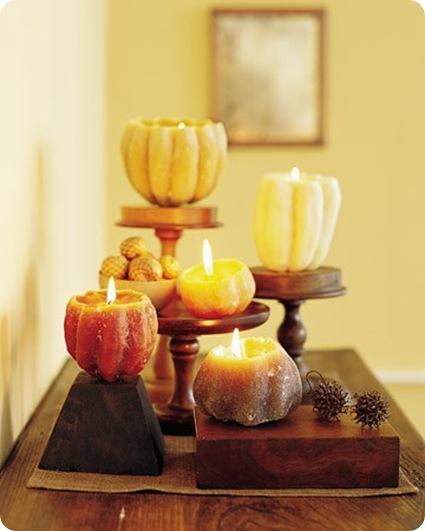 pumpkin candles martha