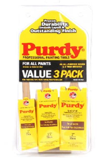 purdy brushes 3 pack