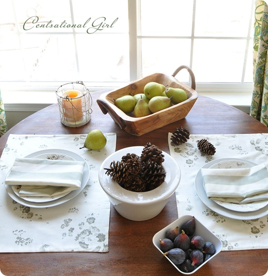 reversible cotton napkins placemats cg