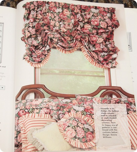 ruffled balloon valance