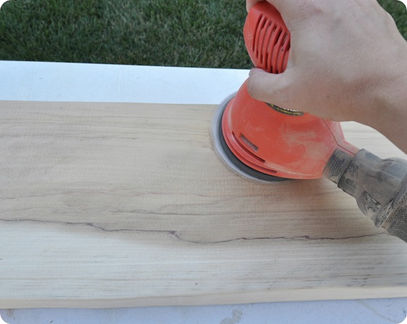 sand cutting boards