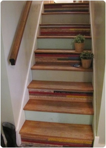 yardstick staircase the painted home