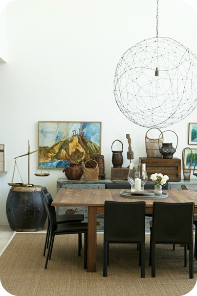 Emily Henderson Design Dining Room