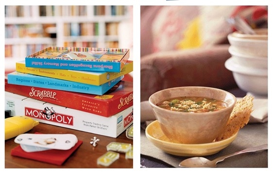 country living games and soup