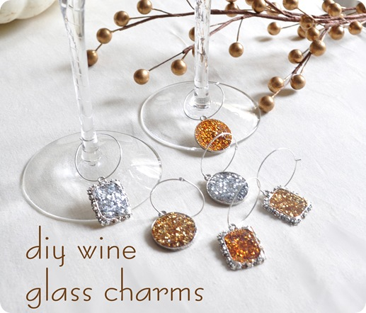diy wine glass charms