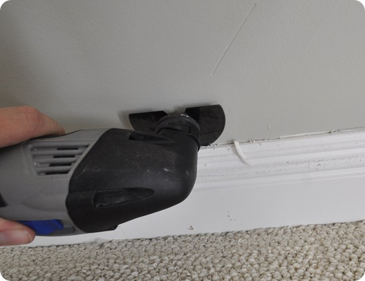dremel multimax cut baseboard