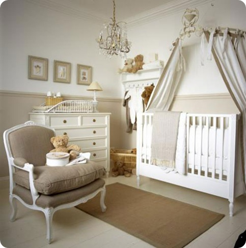 neutral nursery chic shack