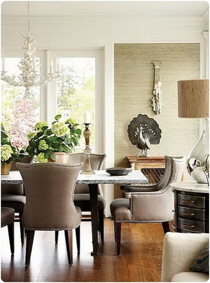 The case for neutrals centsational girl for Neutral dining room ideas