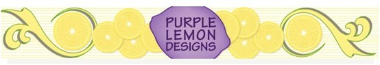 purple lemon banner