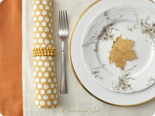 split pea napkin ring cg