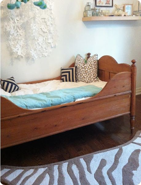 bijou and boheme antique bed