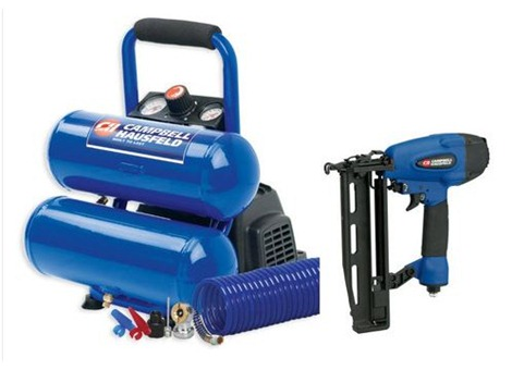 finish nailer compressor kit