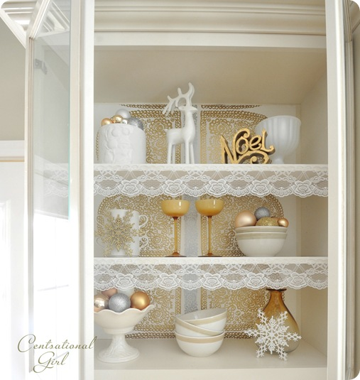 lace lined cabinet cg