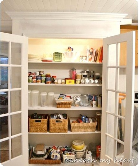 pantry beneath my heart