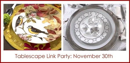tablescape link party