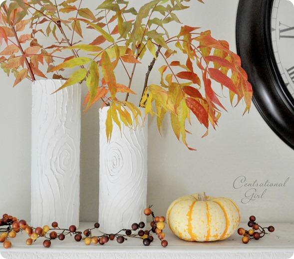 faux vases blancs bois tombent