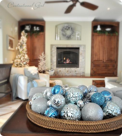 christmas family room
