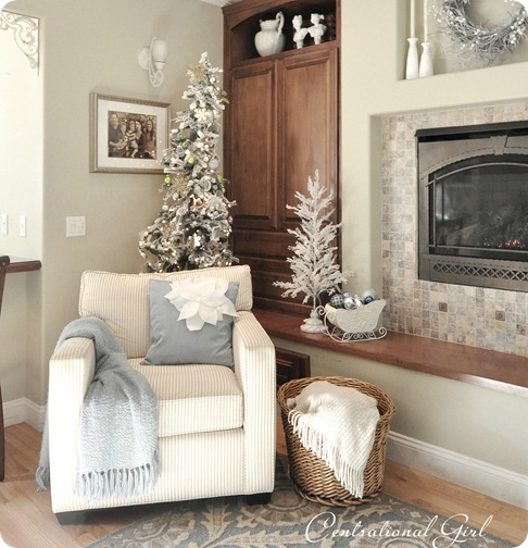 family room corner