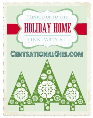 holiday home button centsational girl