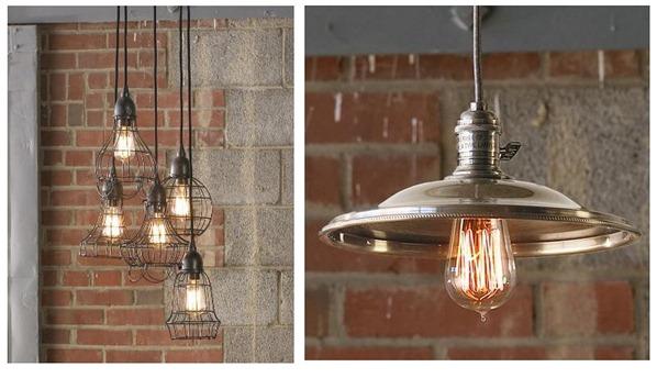 industrial pendants shades of light