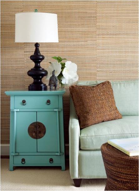 keith scott morton grasscloth wallpaper