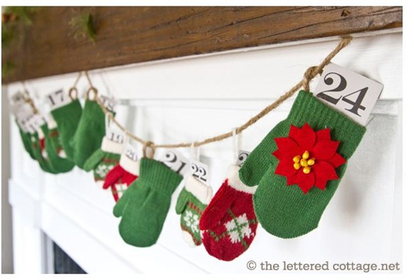 mitten advent the lettered cottage